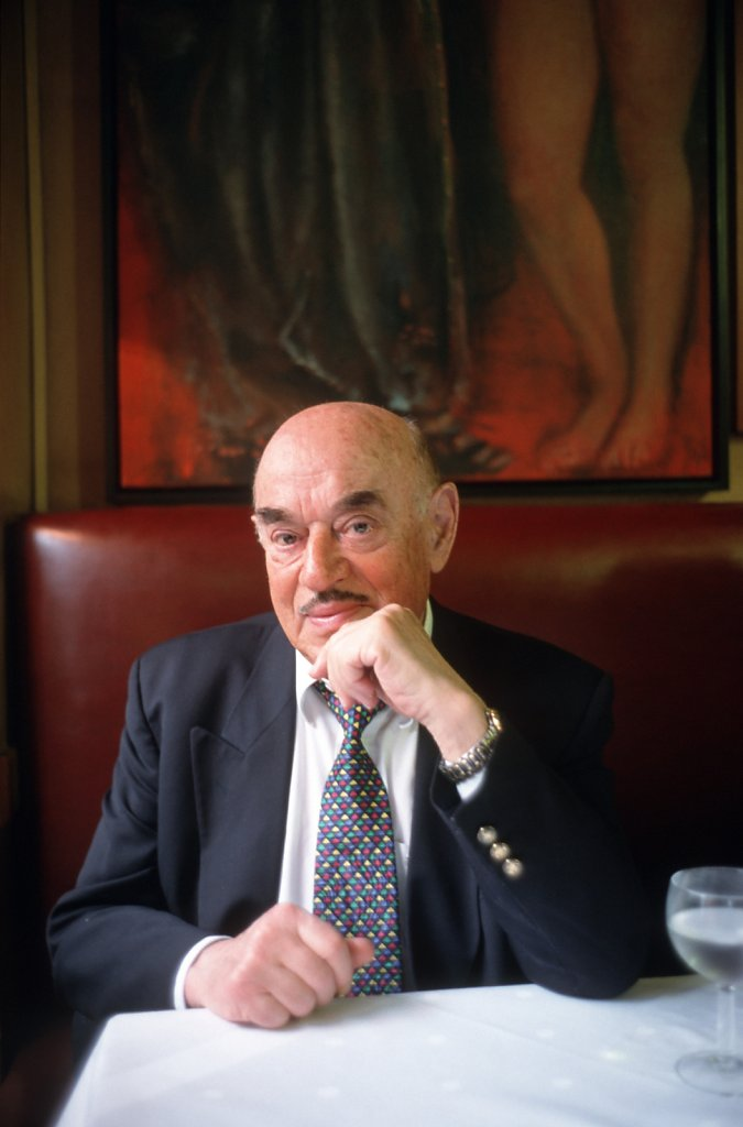 Filmproduzent Artur Brauner