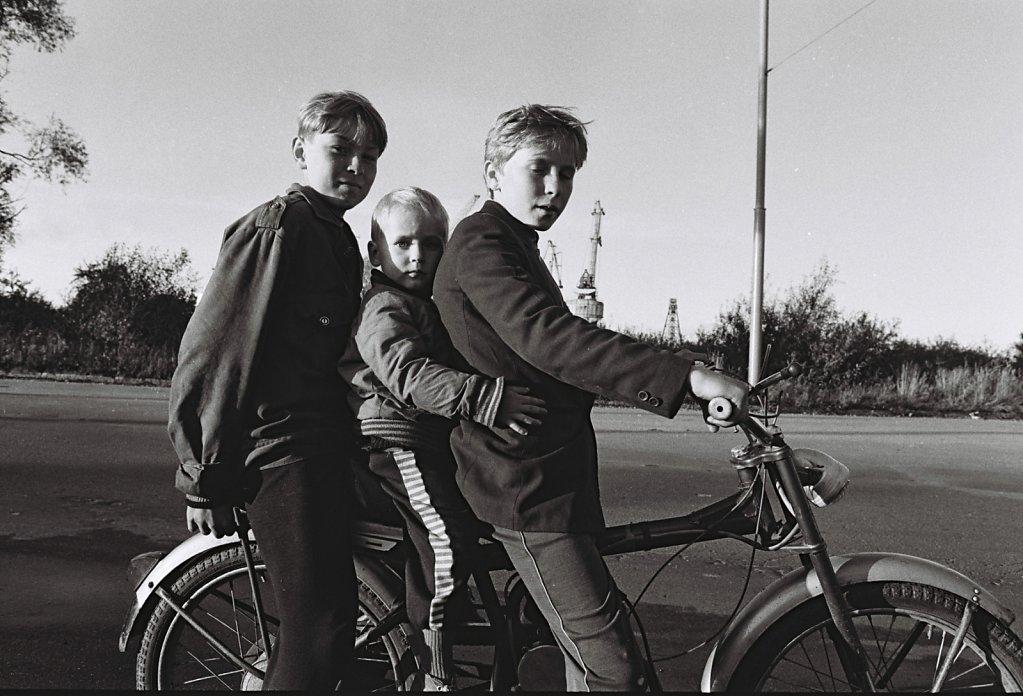 Dorfleben bei Kaliningrad, Russland (Portrait, Reportage, on location, redaktionell)