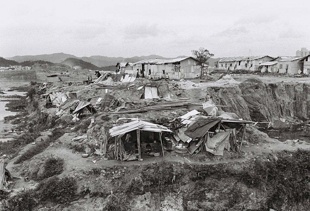 Baustelle in Szenzen, China (Portrait, Reportage, on location, redaktionell)
