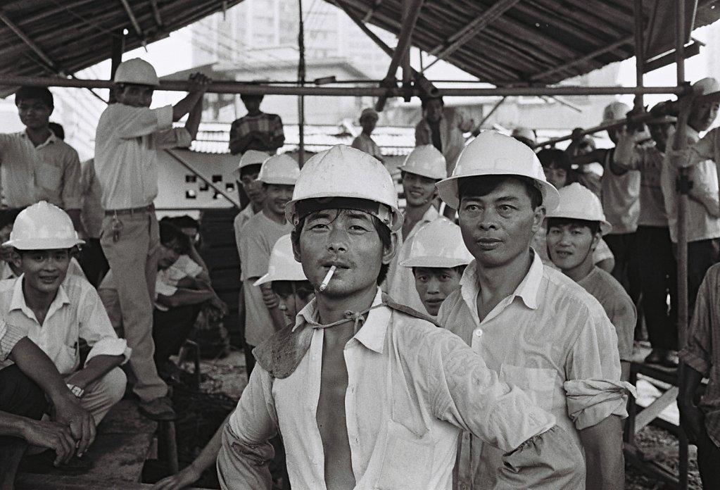 Strassenszene in Shenzhen, China (Portrait, Reportage, on location, redaktionell)